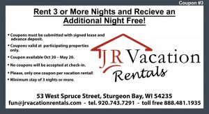 JR Vacation Rental Lodging Coupons