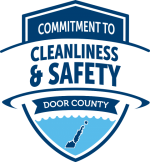 cleanliness and safety logo